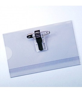 PORTE CARTES SEMI-RIGIDE TRANSPARENT CB CLIP (lot de 100)