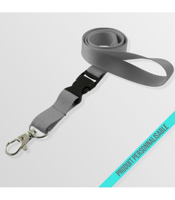 Mousqueton standard & Boucle détachable
