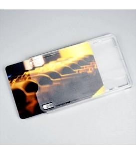 Porte badge rigide à glissière avec poussoir (lot de 100)