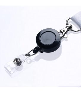 Zip enrouleur plastique avec bretelle pression