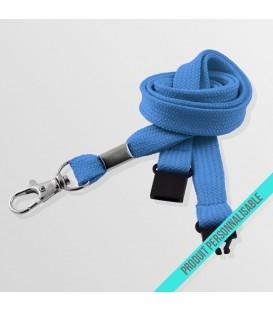 Mousqueton standard & anti-étouffement - cordon tubulaire