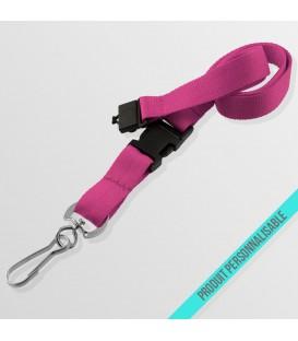Mousqueton ECO, boucle détachable & anti-étouffement - cordon polyester