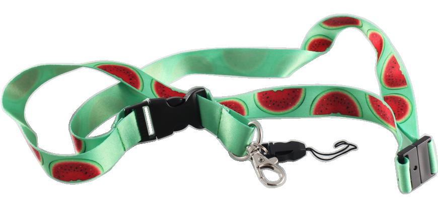 Tour de cou avec cordon personnalisé en sublimation
